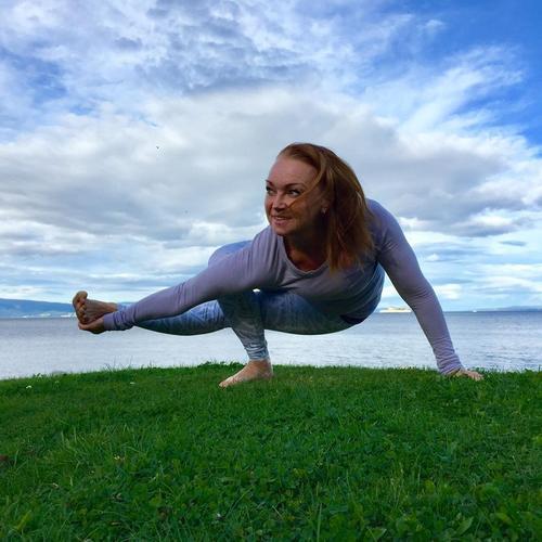 Yogainstruktør Ingrid