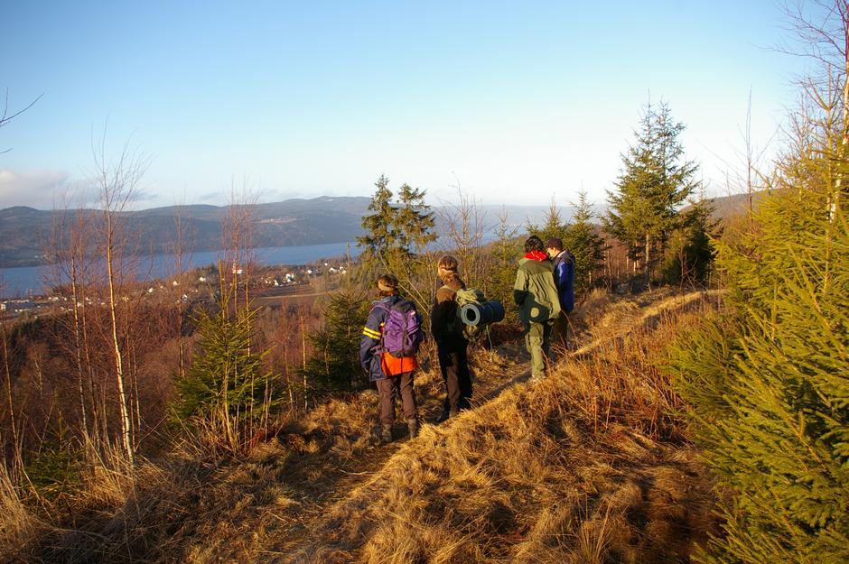 Utsikt mot Feiring fra Ninabben.