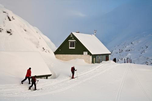 Skitur til Redningshytten