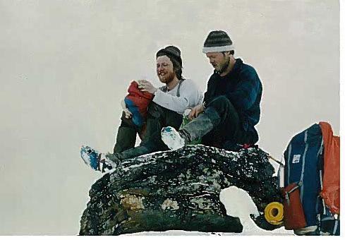 Norge på langs treff på Haukeliseter Fjellstue