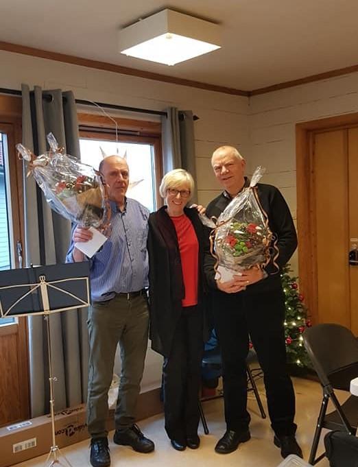 To turleiarar som sluttar, Gunnar Angeltveit og Egil Haaland. Tusen takk for innsatsen gjennon fleire år!