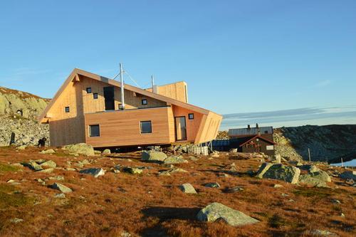 Høgevarde nye hytte