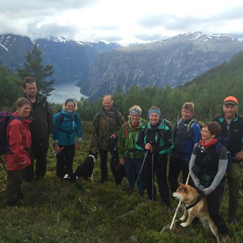 Slik gjekk turen i Nordheimdalen