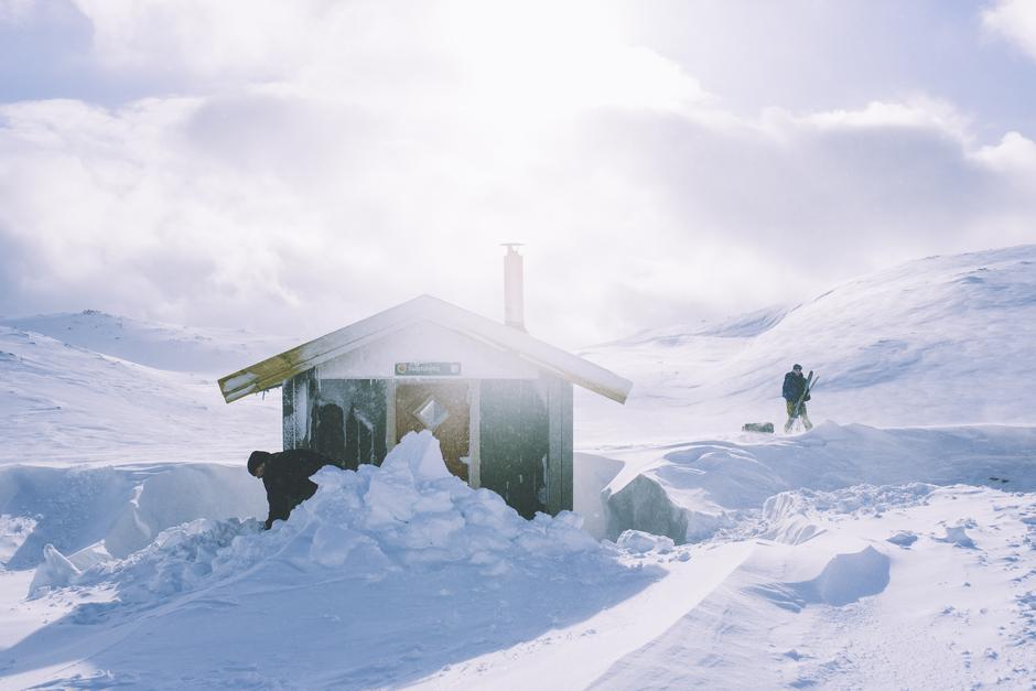 Feir påska på Haakonsbu i Johnsheimen.