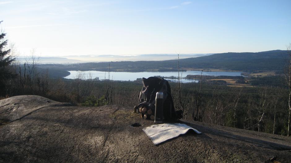 Fin utsikt fra Barlindåsen