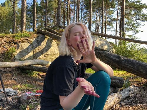 Hengekøyetur med DNT-ung Haugesund sommeren 2019