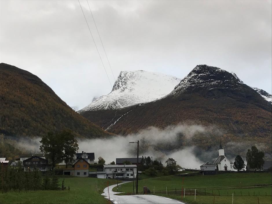 Onsdag 10.10: Skåla i Nordfjord