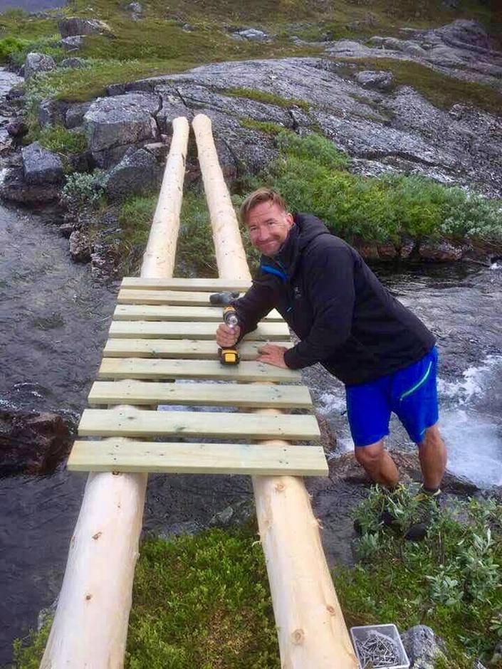 Ny bro bygges