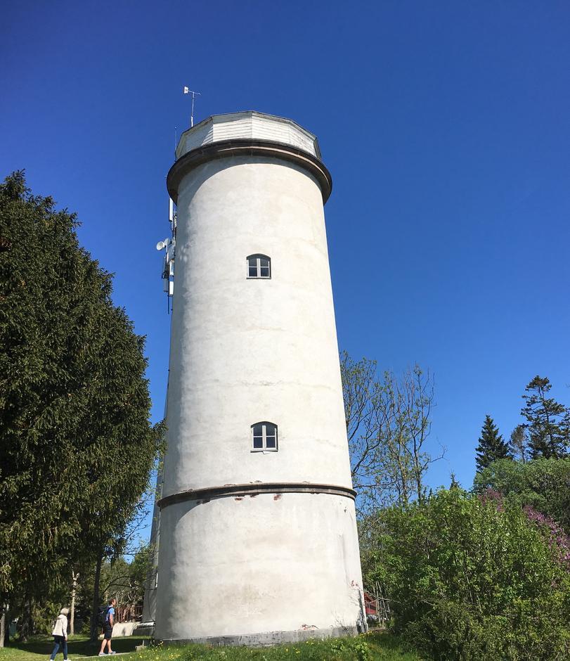 Hva med en herlig utsikt fra det Det gamle tårnet?
