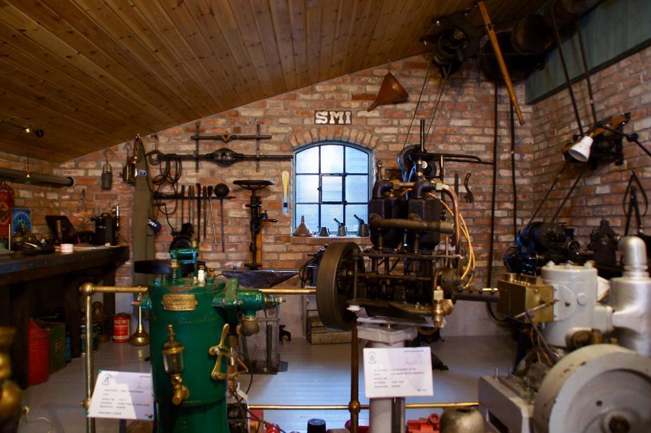 Et imponernede museum, som er et av Norges største, har de opparbeidet på Kystlaget.