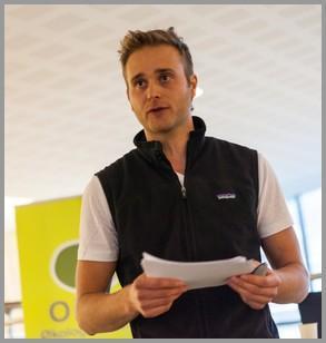 Kjell-Christian Markset forteller om levende matjord.
