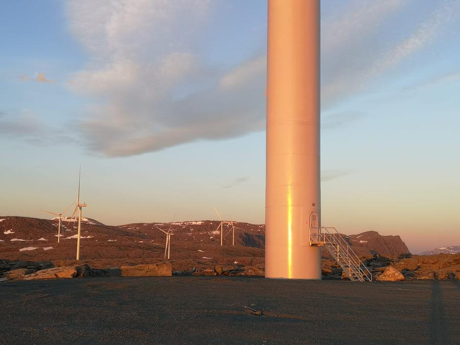 Guleslettene vindkraftanlegg; Vestland