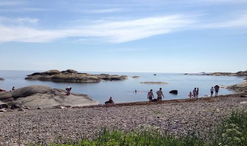 På tur ved Donnaval/ Anvik i Larvik/Stavern området