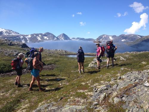 Vievatn mot Slettdalen