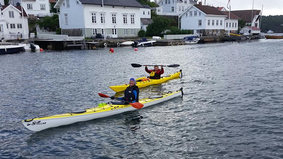 Padletur til Lyngør august 2019.