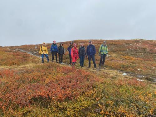 Fargerik tur vest for Kvitfjell