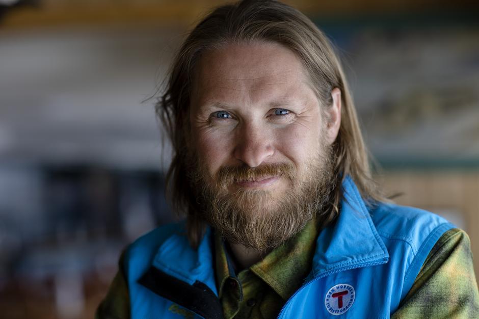 Marius Haugaløkken jobber aktivit for å minimere sitt eget og de besøkendes klimaavtrykk.