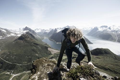 Alexander Gamme mot toppen.