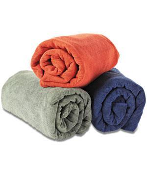 Hurtigtørkende badehåndkle fra Sea to Summit. Kr. 250/299 medlem/ikke medlem. Vi har også mindre utgaver.