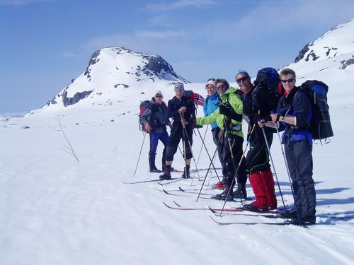 Skitur på Hardangervidda fra Finse til Geiteryggen