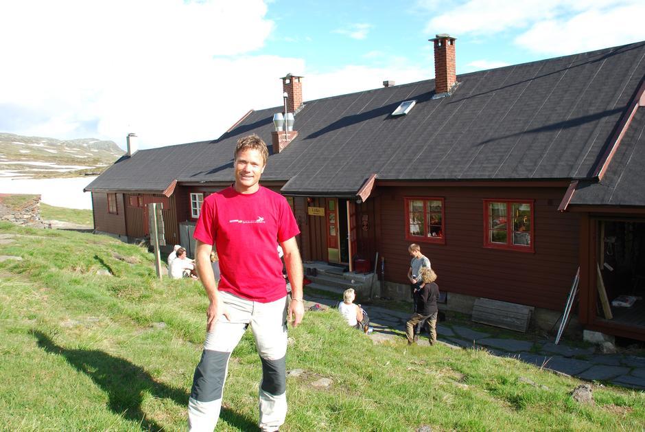 Bestyrer på Litlos. Foto: DNT Oslo