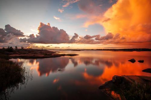 Bildet er tatt på Hvaler en flott ettermiddag.