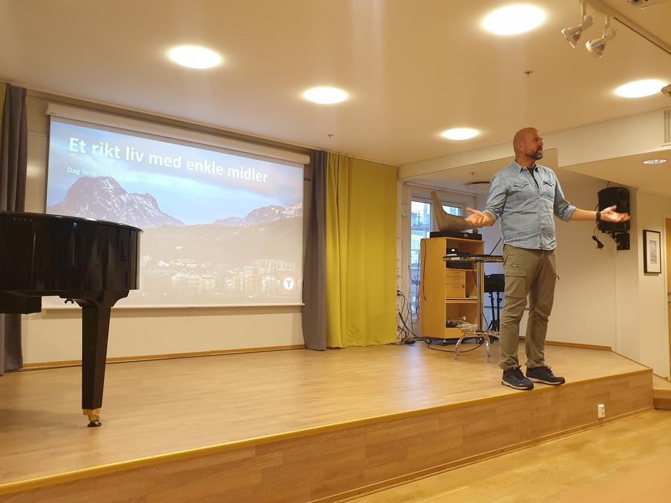 Generalsekretær Dag Terje åpnet møte med spennende foredrag