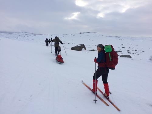 18.3.2019 Nysnø og kaldere vær