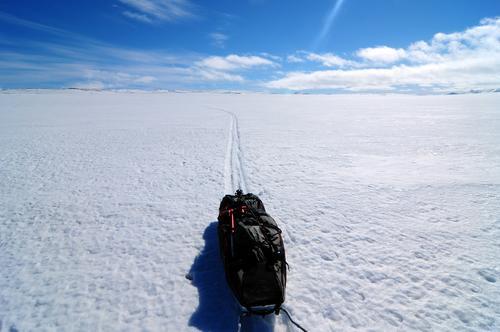 Ski på Hardangervidda.