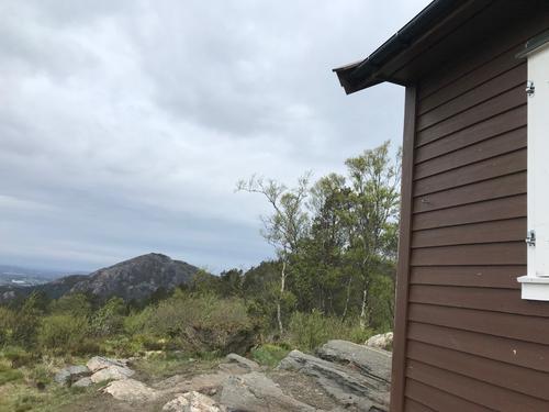 utsikt fra Viggohytten