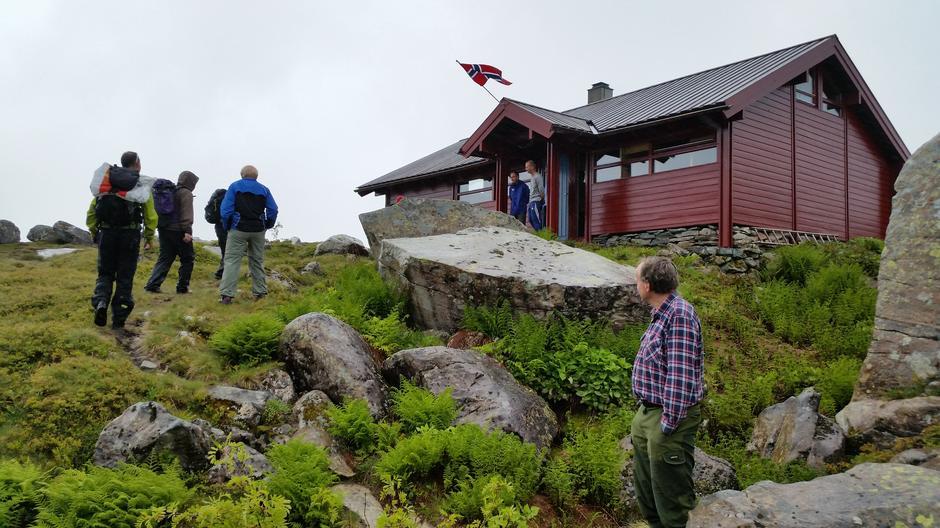 Blåbrebu, frå Turlaget sin 40 års feiring 9.juli 2016