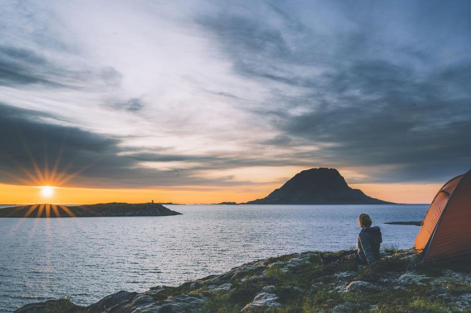 Vega på Helgelandskysten.