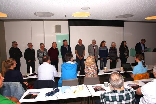 12 hedersknapper utdelt under årsmøtet