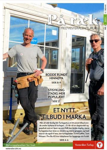 Les siste utgave av På Ræk fritt her!