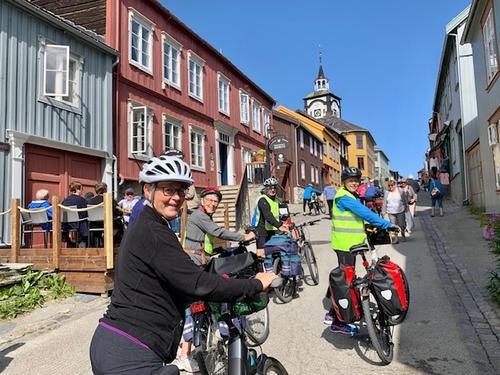 Sykkeltur med kultur – Røros-Femundsmarka-Vingelen 31. juli-3.august 2019