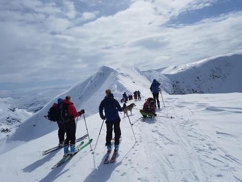 Frå turen Bjørndalen rundt i slutten av april 2017.