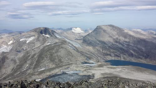 Utsikt fra Puttegga