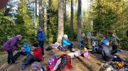 Tur i Lerkeskogen