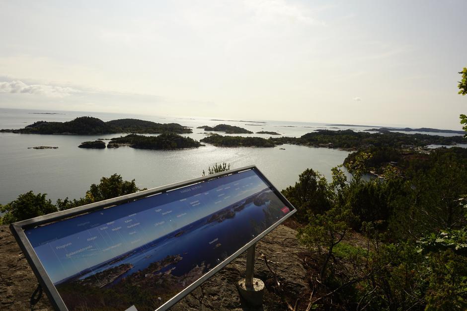 Vakkert på toppen av Vardås i Bmable.
