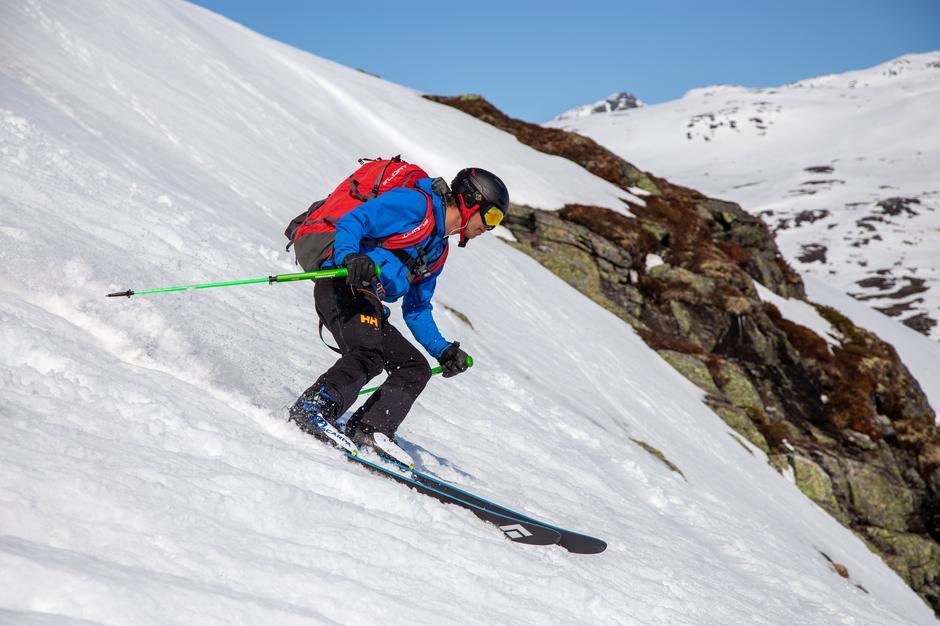 For deg som ligger bratt skikjøring finner du trolig de beste snøforholdene i sørvendte sider denne helgen