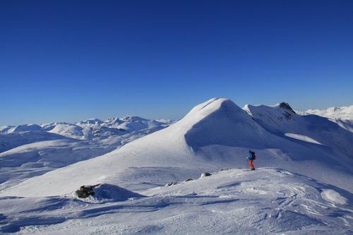 Drømmetur i Tafjordfjellene i mars!