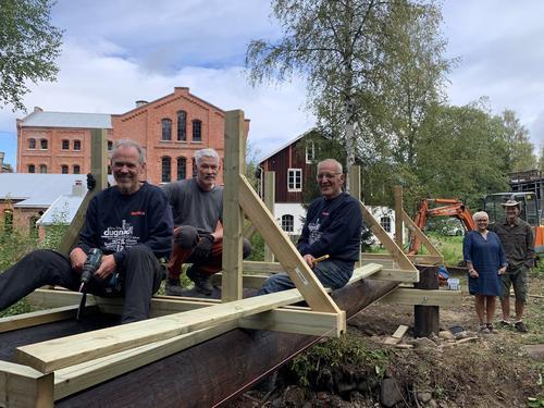 Nå bygger vi ny bru ved Klevfos