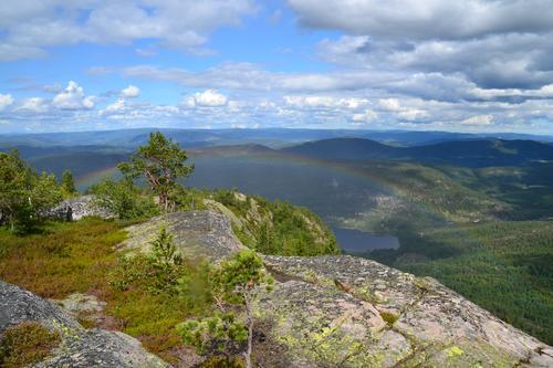 Utsikt fra Luberg