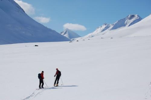 Skitur tvers gjennom Jotunheimen