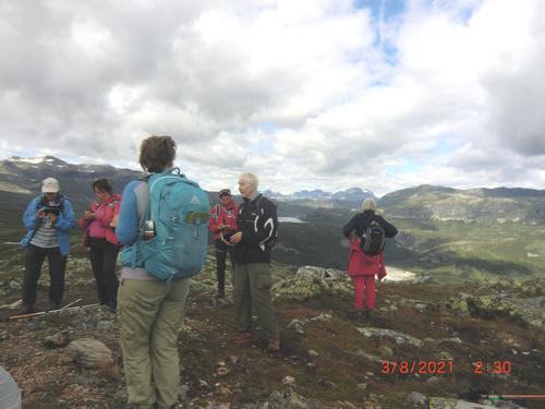 3. august hadde Seniorgruppa Kremtopptur til Raudhorn
