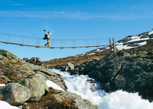 """LITTERÆR STI: Stien langs Bygdin tangerer Aasmund Olavsson Vinjes episke dikt """"Lenda frå Land"""""""