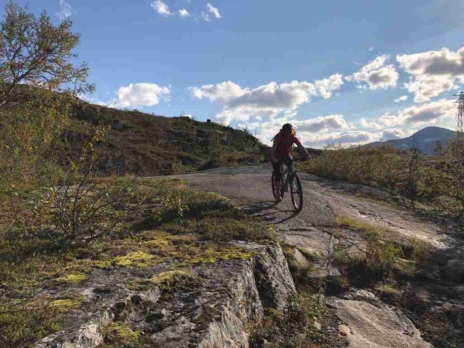 Sykkeltur på den historiske Rallarveien