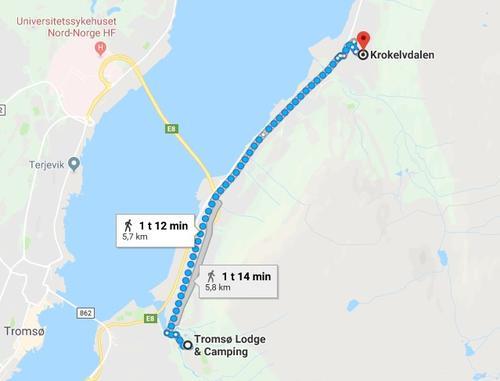 Kroken til Tromsdalen camping