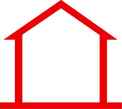 The symbol of a no-service cabin