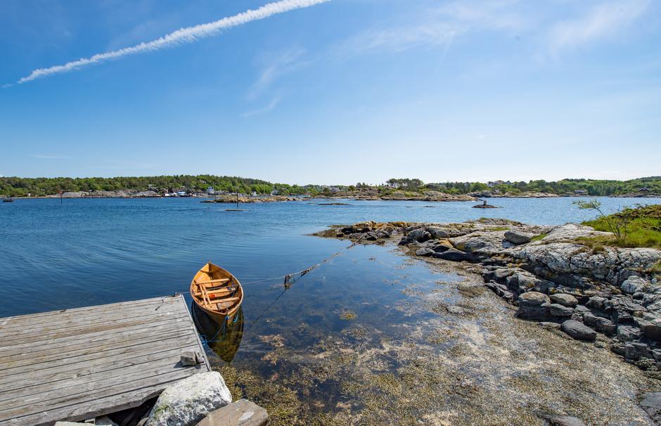 Gammeløya utenfor Kristiansand